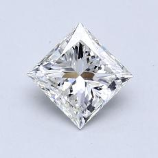 Recommended Stone #1: 0.75-Carat Princess Cut Diamond