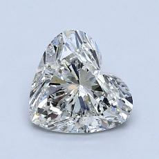 Recommended Stone #3: 1.20-Carat Heart Cut Diamond