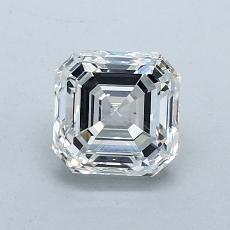 Pierre recommandée n°3: Diamant taille Asscher 1,09 carat