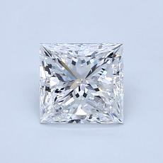 1.00-Carat Princess Diamond Very Good E VS2