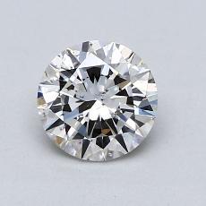 オススメの石No.1:0.85カラットのラウンドカットダイヤモンド