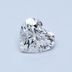 オススメの石No.3:0.60カラットのハートカットダイヤモンド