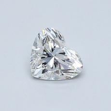 Recommended Stone #3: 0.53-Carat Heart Cut Diamond