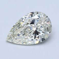 推薦鑽石 #3: 1.08 克拉梨形鑽石