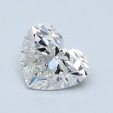 Recommended Stone #1: 1,00-Carat Heart Cut Diamond