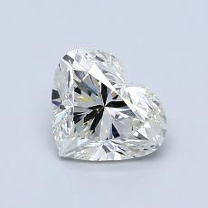Recommended Stone #1: 0.96-Carat Heart Cut Diamond