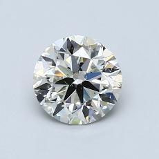 オススメの石No.1:0.90カラットのラウンドカットダイヤモンド