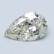 Recommended Stone #4: 1.06-Carat Pear Cut Diamond