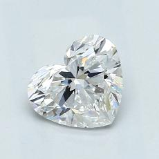 Recommended Stone #2: 1.06-Carat Heart Cut Diamond