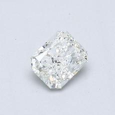 Recommended Stone #1: 0.41-Carat Radiant Cut Diamond