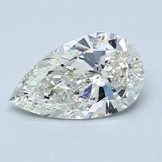 推薦鑽石 #2: 1.00 克拉梨形鑽石
