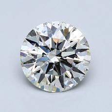 1,20 Carat Rond Diamond Idéale K SI2
