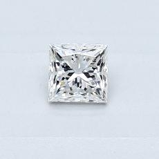 Recommended Stone #4: 0.30-Carat Princess Cut Diamond