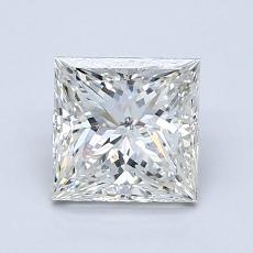 推薦鑽石 #3: 1.29  克拉公主方形鑽石