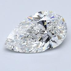 Recommended Stone #3: 1.35-Carat Pear Cut Diamond