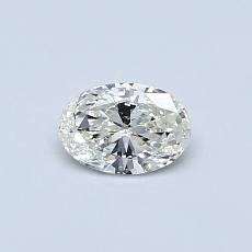 Recommended Stone #1: 0.33-Carat Oval Cut Diamond