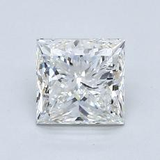 1.20-Carat Princess Diamond Very Good F VVS2