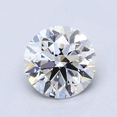 1.20-Carat Round Diamond Ideal G VVS2