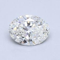 0,90 Carat Ovalado Diamond Muy buena G VS2