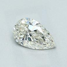 Recommended Stone #1: 1.04-Carat Pear Cut Diamond
