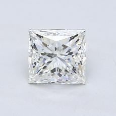 Pierre recommandée n°3: Diamant taille princesse 1,00 carat
