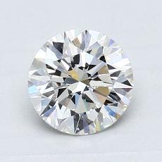 1.01 Carat 圓形 Diamond 理想 I VVS2