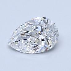 オススメの石No.4:0.90カラットのペアーカットダイヤモンド