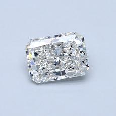 Recommended Stone #3: 0.50-Carat Radiant Cut Diamond