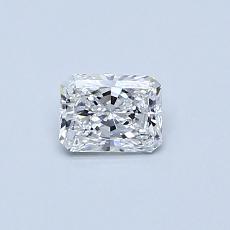 推荐宝石 4:0.34 克拉雷地恩明亮式钻石