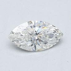 Recommended Stone #3: 0.54-Carat Marquise Cut Diamond