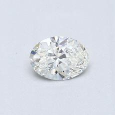 Recommended Stone #2: 0.30-Carat Oval Cut Diamond
