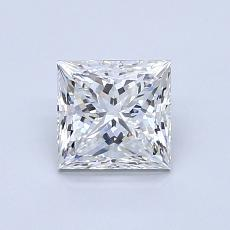 Recommended Stone #3: 0.92-Carat Princess Cut