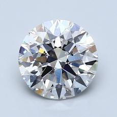 Target Stone: 1.56-Carat Round Cut Diamond