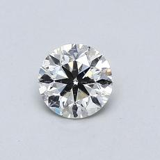 Recommended Stone #3: 0.46-Carat Round Cut Diamond