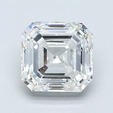 Pierre recommandée n°2: Diamant taille Asscher 2,01 carat