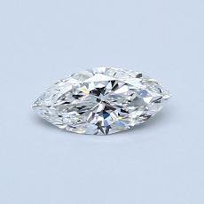 0.32-Carat Marquise Diamond Very Good E VS2