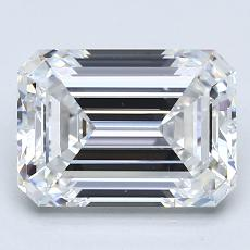 Recommended Stone #2: 3.02-Carat Emerald Cut Diamond