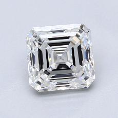 1,30-Carat Asscher Diamond Very Good E VVS2