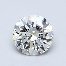 1.01 Carat 圆形 Diamond 理想 J SI2