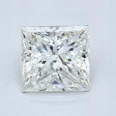 Recommended Stone #1: 1.05-Carat Princess Cut Diamond