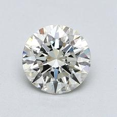 1.01-Carat Round Diamond Ideal K SI1
