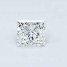 0.40 Carat 公主方形 Diamond 非常好 G VS2