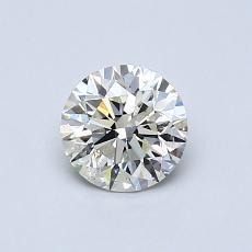 0,60 Carat Rond Diamond Idéale K SI2