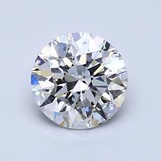 1.01 Carat 圓形 Diamond 理想 D SI2