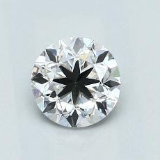 1.01-Carat Round Diamond Good D VVS1