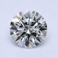 1.50-Carat Round Diamond Ideal G VVS1