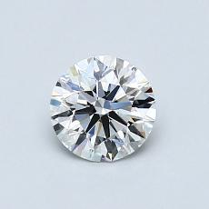 推荐宝石 2:0.60克拉圆形切割钻石