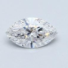 推薦鑽石 #3: 0.72 Carat Marquise Cut