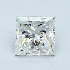 Recommended Stone #1: 1,52-Carat Princess Cut Diamond