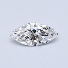 推薦鑽石 #4: 0.37  克拉欖尖形切割鑽石